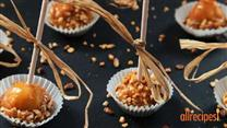 Nutty Caramel Apple Pops