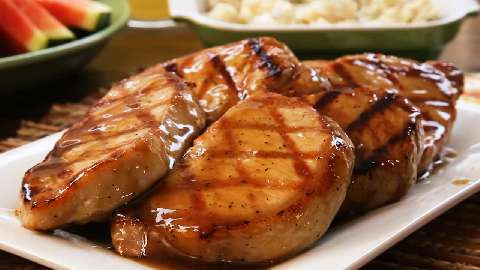 Grilled Brown Sugar Pork Chops Video - Allrecipes.com