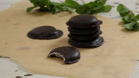 Peppermint Pattie Chocolate Covered Caramels Recipes ...
