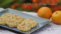 White Chip Orange Cookies
