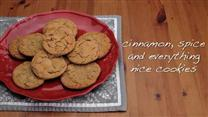 Cinnamon, Spice, and Everything Nice Cookies