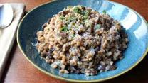 Chef John's Farro with Wild Mushrooms