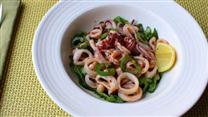 Chef John's Warm Calamari Salad