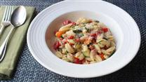 Summer Vegetable Cavatelli with Fresh Corn Cream