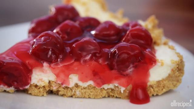 The Best Unbaked Cherry Cheesecake Ever Recipe — Dishmaps