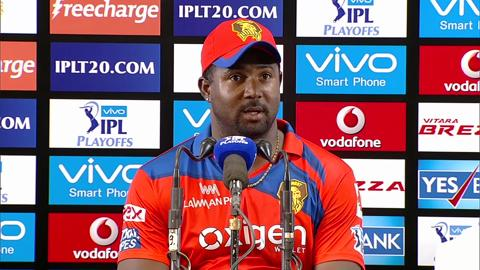 M57: GL vs RCB – Press Conference – Dwayne Smith