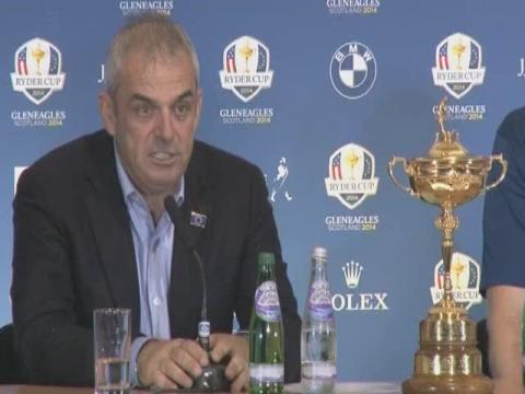 Video: Ryder Cup: Paul McGinley's Europe seal victory