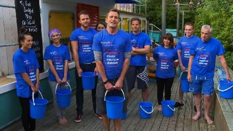 Hollyoaks cast in special Ice Bucket Challenge