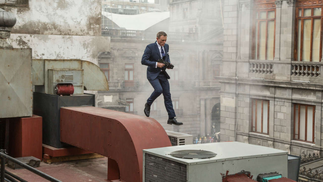 Exploring the action scenes of Spectre