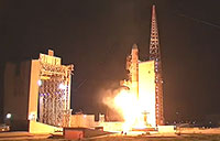 Launch of Delta IV Rocket with NROL-45